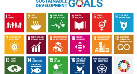 Sustainable development goals of the SDGs from No.1 to No.17