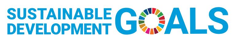 Sustainable development goals of the SDGs